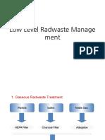 Low Level Radwaste Management