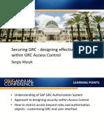 0907 Securing GRC Designing Effective Security