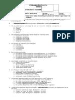 Evaluación Sumativa Unidad 1 Quinto Básico