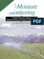 soil moisture monitring