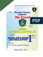 Manual de Excel - Autoinstrutivo