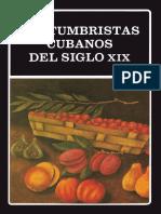 AAVV - Costumbristas Cubanos Del Siglo XIX