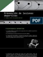 PRESENTACION Prevención de Lesiones Deportivas