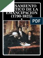 AAVV - Pensamiento_politico de La Emancipación 1790 - 1825 T.1