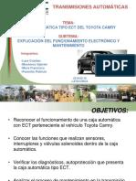 Caja ECT Toyota Camry