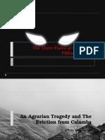 The Three Faces of Evil in El Filibusterismo