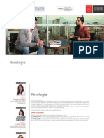 perfil de egreso Psicologia