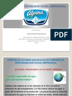 Responsabilidad Social Empresarial de ALPINA