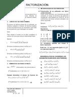 factorización 2013
