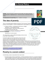 Social Policy Poverty