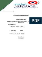 Contabilidad de Costos- MEZCLA ADHESIVA