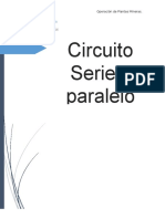 Cuadro Comparativo Serie - Paralelo