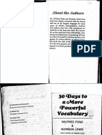30 Days to a More Powerful Vocabulary PDF