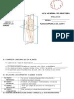 Examen Mensual de Anatomia