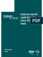 Estudio Para El Desarrollo y Gestion Del Producto Turistico MICE en Euskadi 2011 09-14-16!23!59
