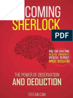 Becoming SheBecoming Sherlock by Stefan Cainrlock by Stefan Cain
