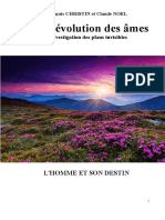 Vie Et Evolution Des Ames Christin F Et Noel C