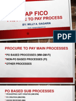SAP Procure to Pay Process