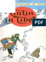 Tintin in Tibet the Adventures of Tintin