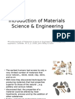 Introduction of Materials