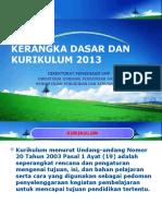 Kerangka Dasar Dan Struktur Kur2013