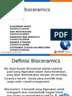 Ppt Bioceramics