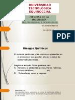 Clasificacion de Factores de Riesgo Quimico Sesion 11