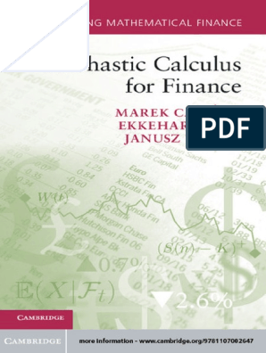 Stochastic Calculus for Finance | Stochastic Process | Probability