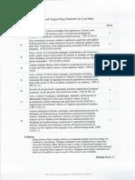 domain c student teaching assessment - tk