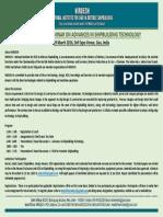 International Seminar Brochure
