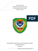 NASKAH AKADEMIK Perusahaan Daerah BPR 2015