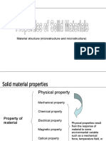 properties of Solid