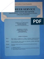 Philippines Civil Service Professional Reviewer 201111