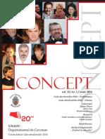 Concept vol. 12/nr 1/iunie 2016
