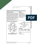 datasheet DS34C87TM