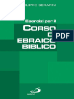 Filippo Serafini-Esercizi Per Il Corso Di Ebraico Biblico-San Paolo (2006)