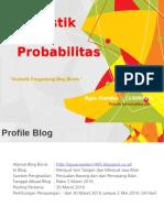 Hasil Persentasi Statistik Penayangan Blog Bisnis