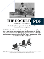 The Rocketeer - A Free-Flight Model Airplane (Fuel Engine) (Convert to R/C?)