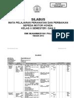 Silabus TSM X Smt 1 & 2