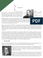Biografía de Los Que Declaran Los Principios de La Geografía