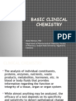2. Introduction to Clinical Chemistry