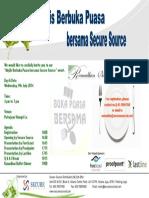Buka Puasa With Secure Source 2014 9th July 2014 Putrajaya Shangrila A