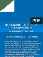 Hidrokinetoterapia in Afectiunile Respiratorii Și Cardiovasculare