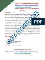 H6-Type Single Phase Full-Bridge PV Grid-Tied Transformerless Inverters