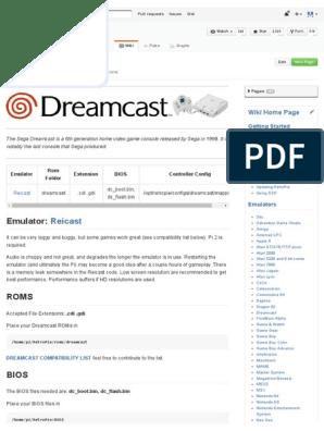 Dreamcast · RetroPie_RetroPie-Setup Wiki | Play Station