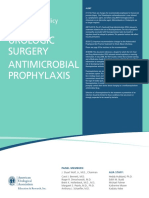 Antimicrobial Prophylaxis