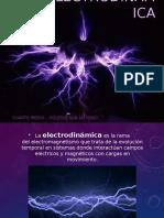 PPT ELECTRODINAMICA - CORRIENTE ELECTRICA
