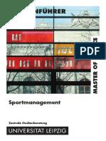 MSc Sportmanagement 06.03.15