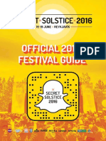 Official Secret Solstice 2016 Festival Guide