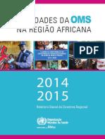 Relatorio Oms Africa 2014 15